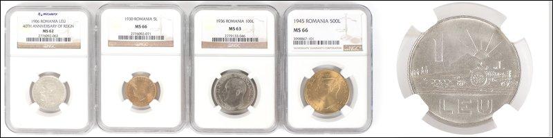 Licitația unei Colecții de Numismatică #415/2021
