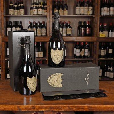 Lot format din două sticle de champagne Dom Pérignon, vintage 2010, 2st x 0,75l